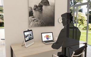 digitaal vergaderen - thuis