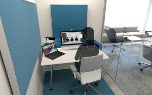 digitaal vergaderen focus ruimte