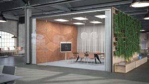 digitale vergaderruimte - glas