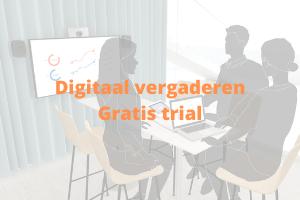 digitaal vergaderen, gratis trial